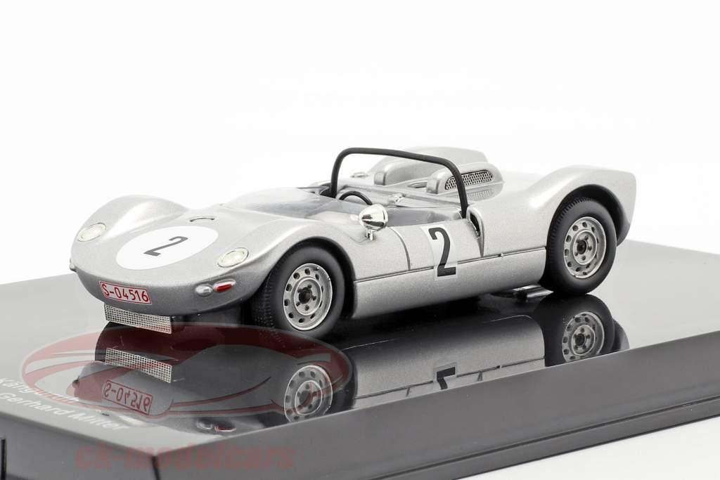 Porsche 906/8 Känguruh #2 vencedor Hill climb Rossfeld 1965 Gerhard Mitter 1:43 Norev