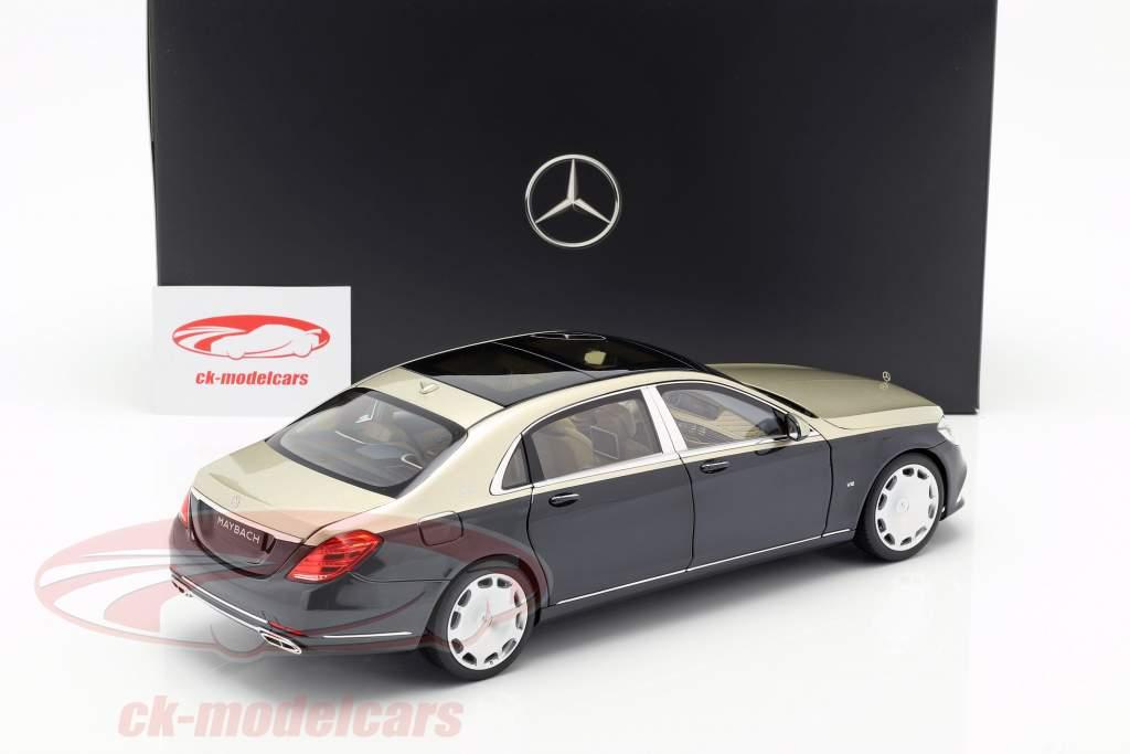 Mercedes-Benz Maybach S650 (X222) argonitsilber / anthrazitblau metallic 1:18 Norev