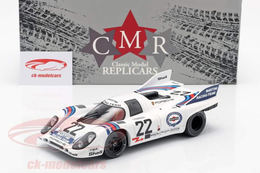 Porsche 917K #22 winnaar 24h LeMans 1971 Marko, van Lennep 1:18 CMR
