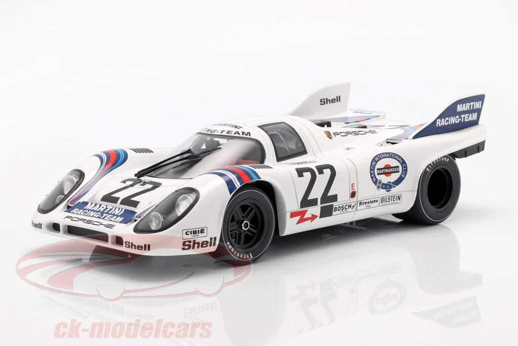 Porsche 917K #22 勝者 24h LeMans 1971 Marko, van Lennep 1:18 CMR