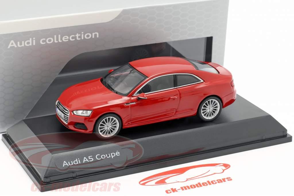 Audi A5 Coupe tango rojo 1:43 Spark
