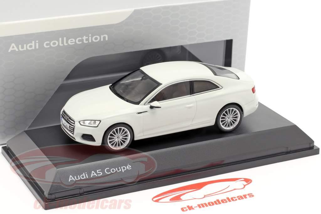Audi A5 Coupe gletscher hvid 1:43 Spark