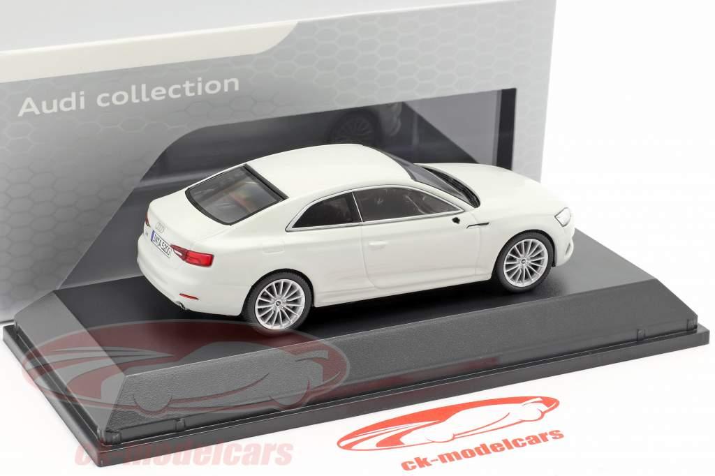 Audi A5 Coupe glaciar blanco 1:43 Spark
