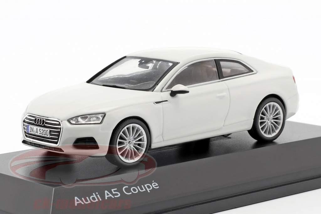 Audi A5 Coupe gletsjer wit 1:43 Spark
