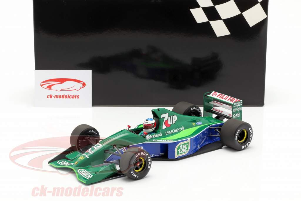 M. Schumacher Jordan 191 #32 F1 debuut Belgisch GP Spa 1991 1:18 Minichamps