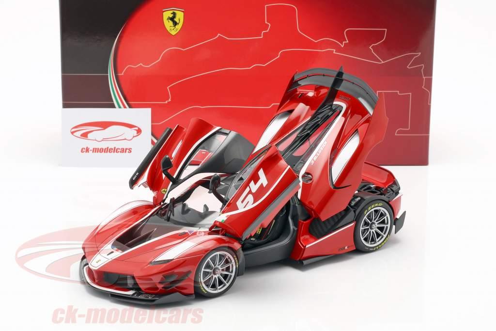Ferrari FXX-K Evo #54 Baujahr 2017 corsa rot 1:18 BBR