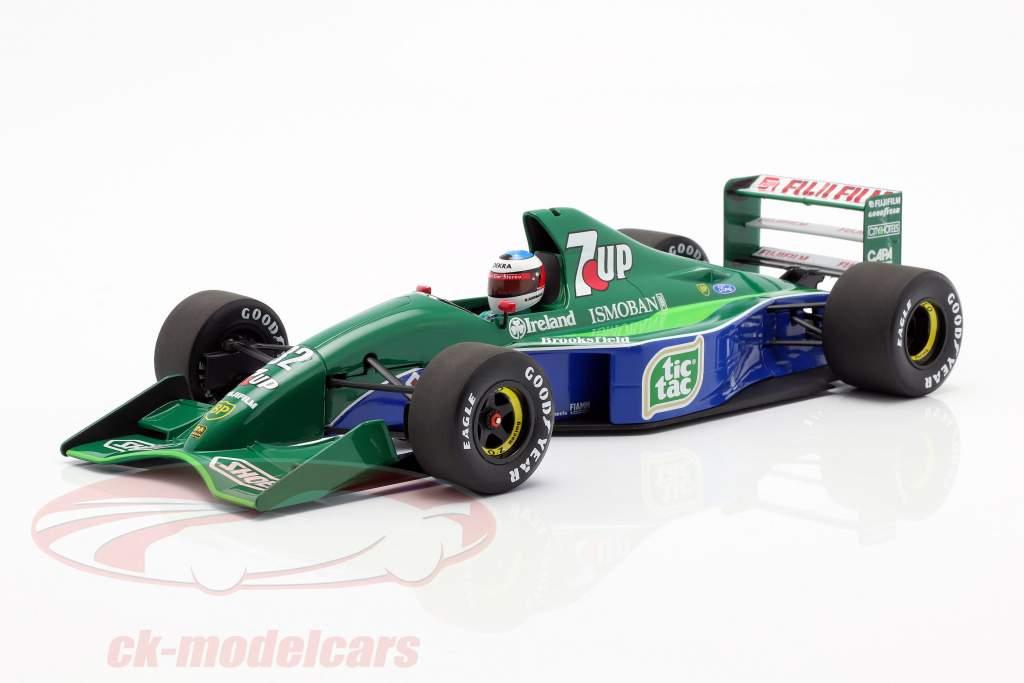 M. Schumacher Jordan 191 #32 F1 estréia belga GP Spa 1991 1:18 Minichamps
