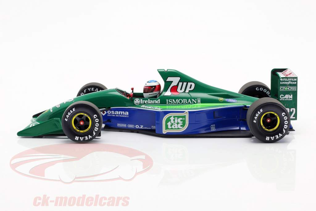 M. Schumacher Jordan 191 #32 F1 debut belgisk GP Spa 1991 1:18 Minichamps