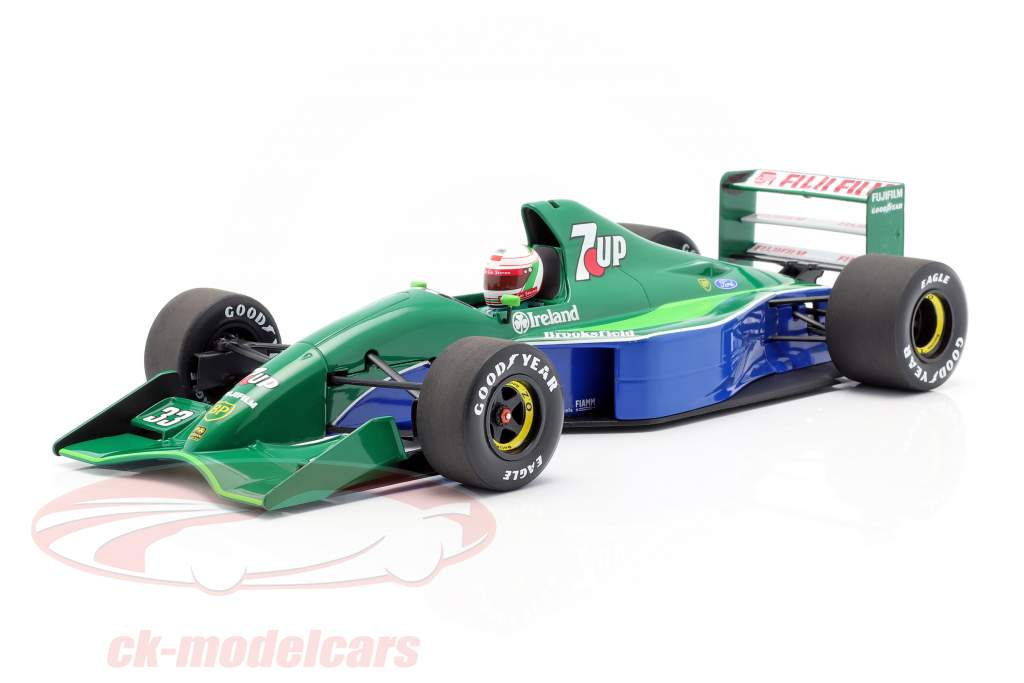 Andrea de Cesaris Jordan 191 #33 cuarto canadiense GP F1 1991 1:18 Minichamps
