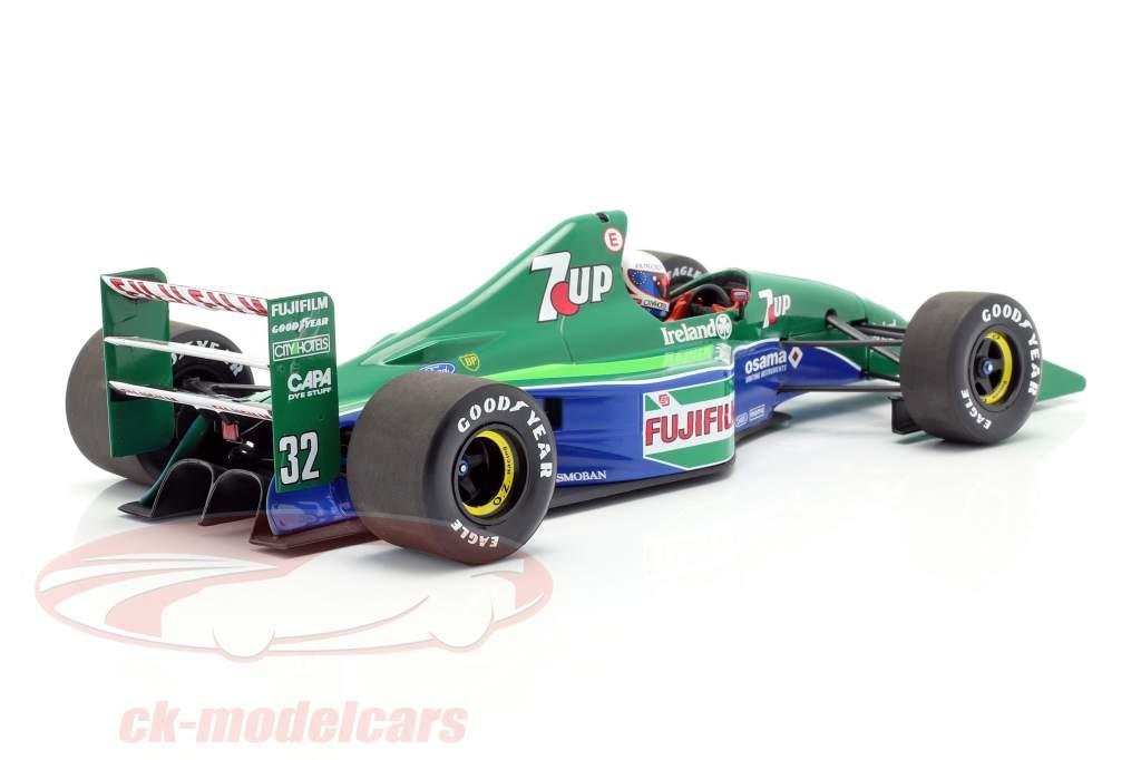 Bertrand Gachot Jordan 191 #32 6 britânico GP F1 1991 1:18 Minichamps