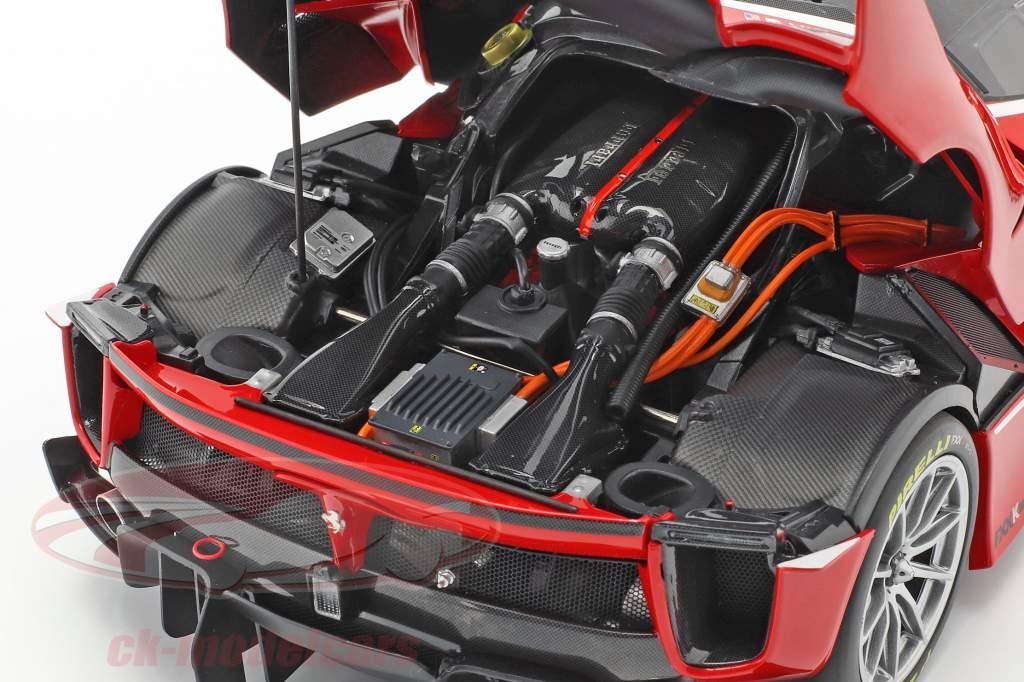 Ferrari FXX-K Evo #54 year 2017 corsa red 1:18 BBR