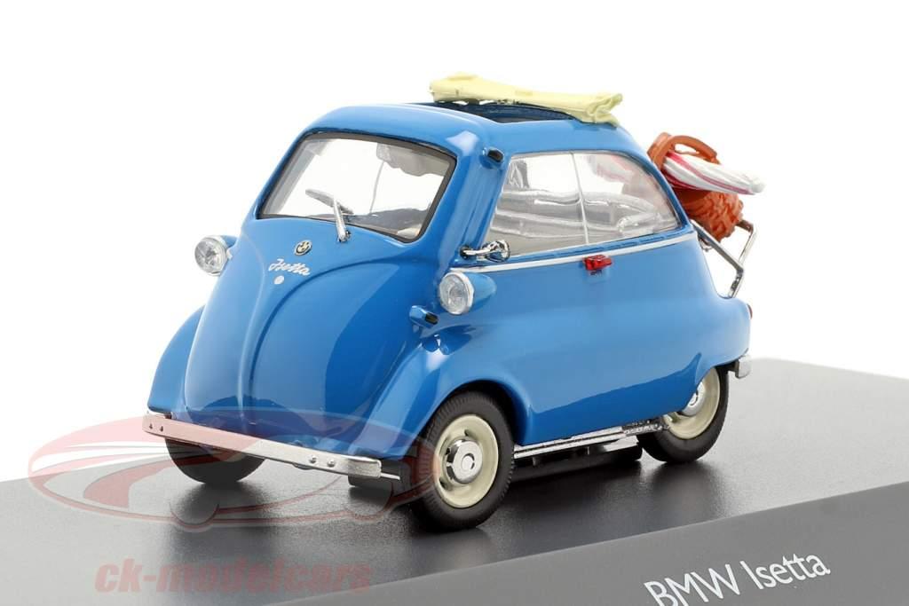 BMW Isetta picnic azul 1:43 Schuco