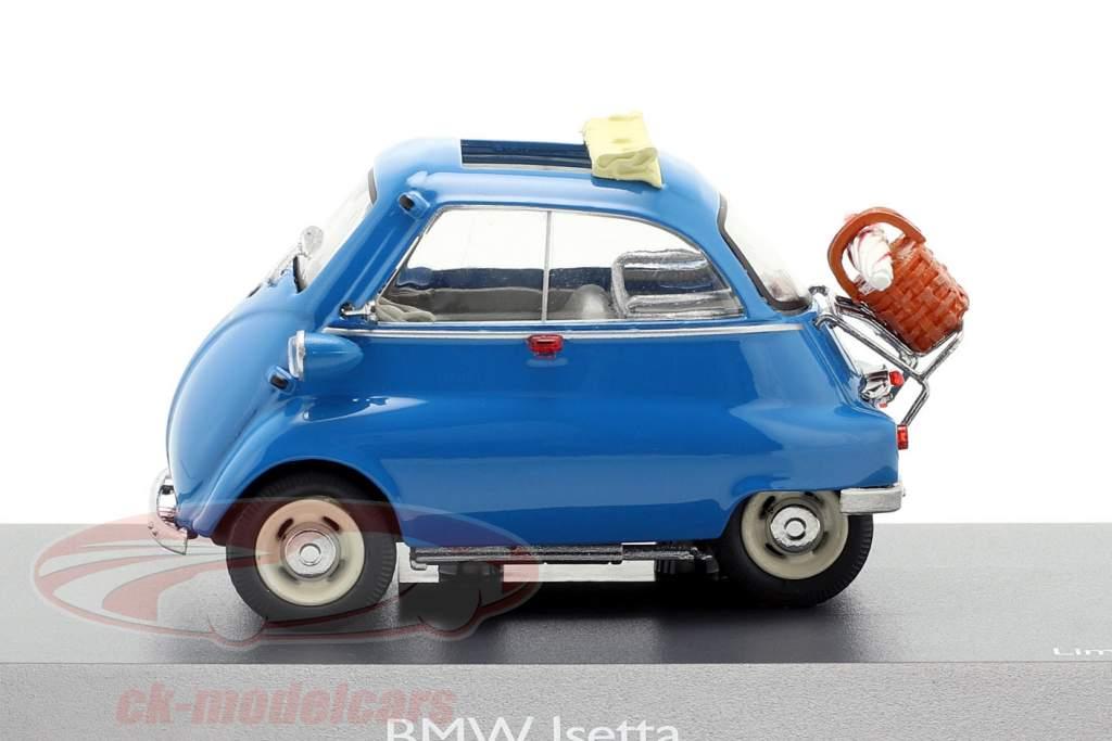 BMW Isetta picnic blå 1:43 Schuco