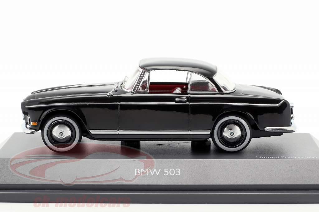 BMW 503 Hardtop Bouwjaar 1956-1960 zwart 1:43 Schuco