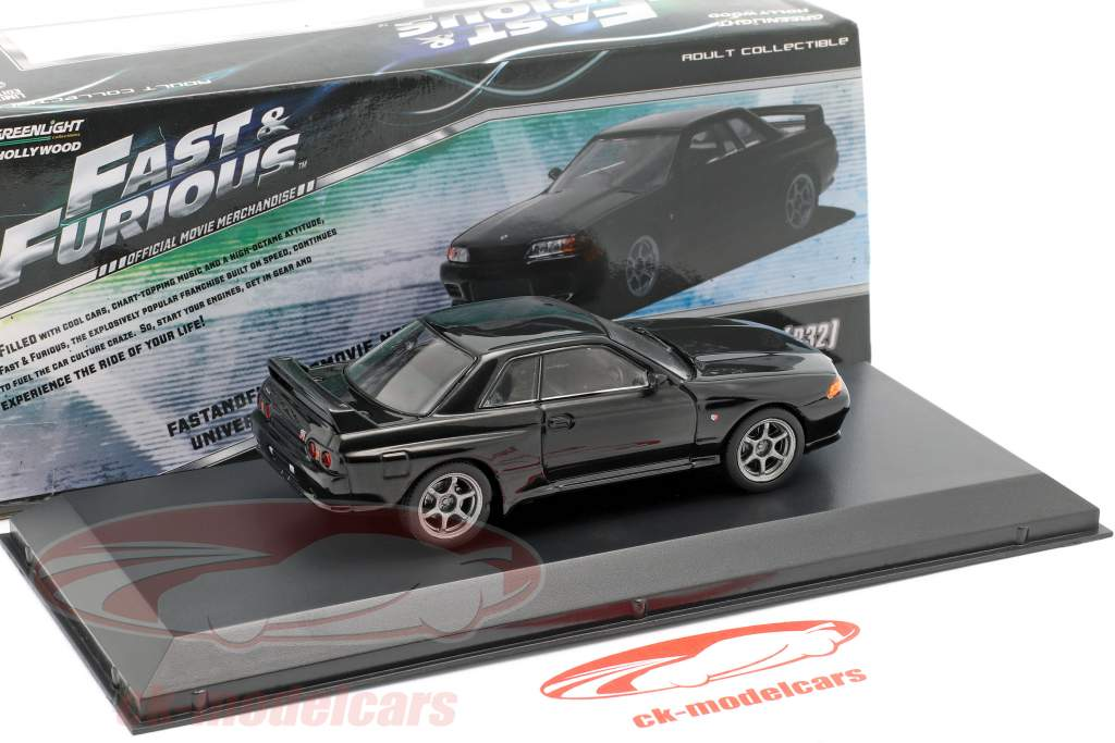 GREENLIGHT 1:43 FAST /& FURIOUS 7 1989 NISSAN SKYLINE GT-R R32 DIECAST CAR 86229