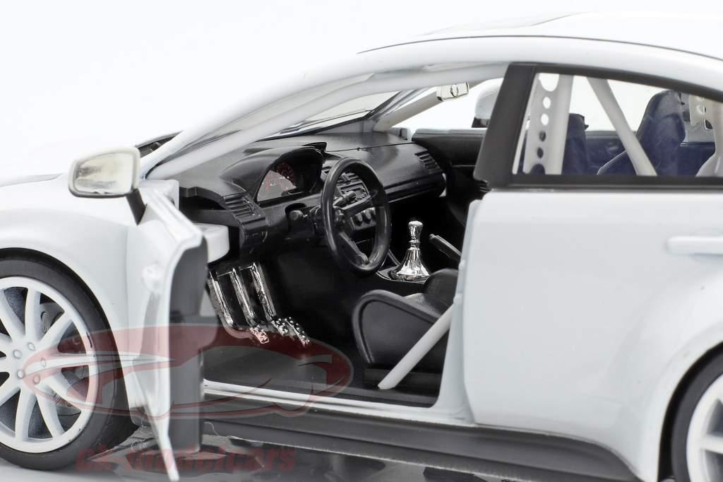 Mr. Little Nobody's Subaru WRX STI Fast and Furious 8 bianco 1:24 Jada Toys