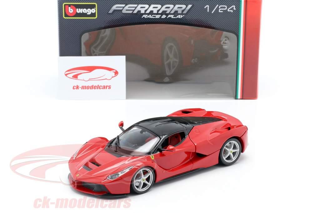 Ferrari LaFerrari rouge / noir 1:24 Bburago