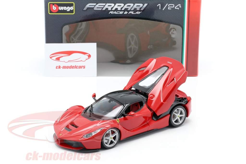 Ferrari LaFerrari rot / schwarz 1:24 Bburago
