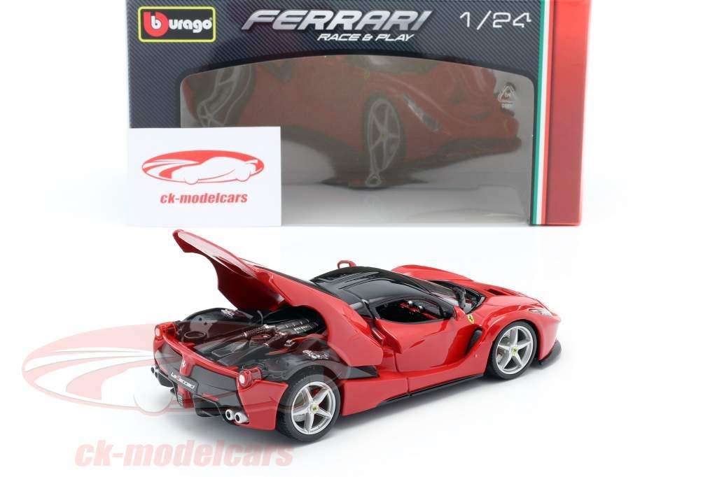 Ferrari LaFerrari rød / sort 1:24 Bburago
