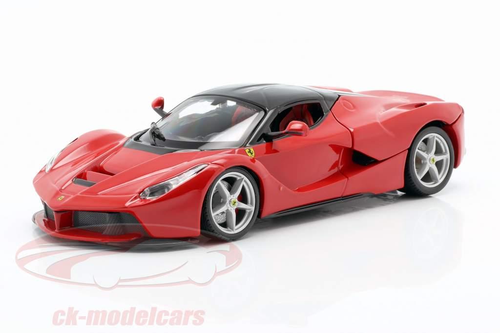 Ferrari LaFerrari rood / zwart 1:24 Bburago