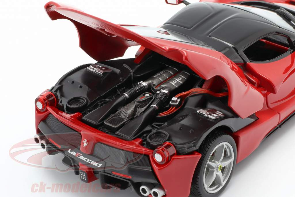 Ferrari LaFerrari red / black 1:24 Bburago