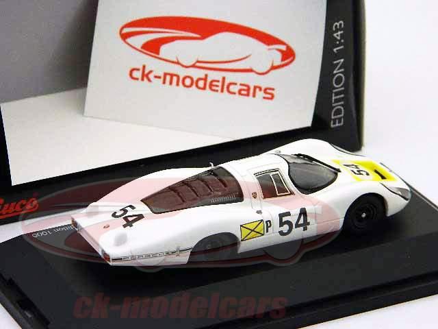 Porsche 907 #54 Ganador 24h Daytona 1968 1:43 Schuco