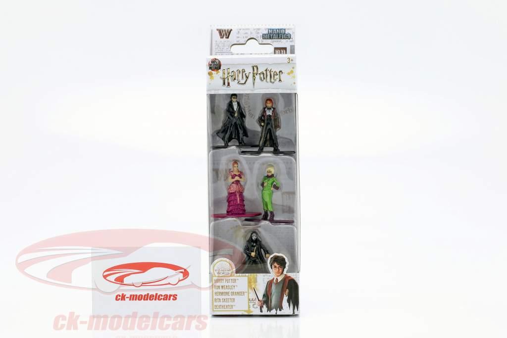 Harry Potter Set 5 cijfers Jada Toys