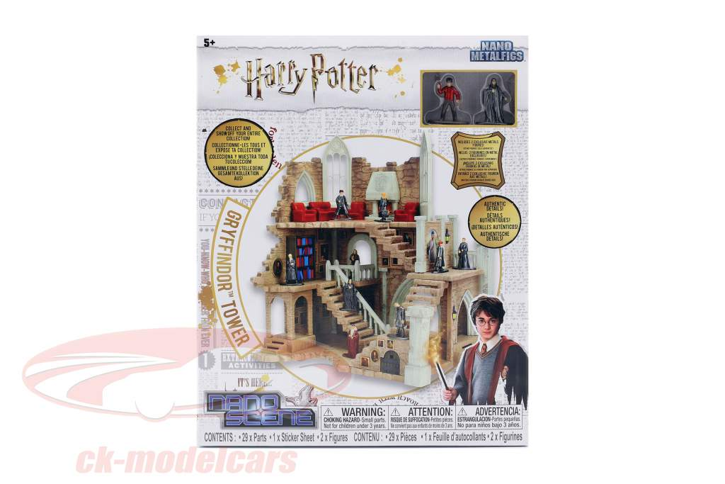Harry Potter Gryffindor Tower avec chiffres Jada Toys