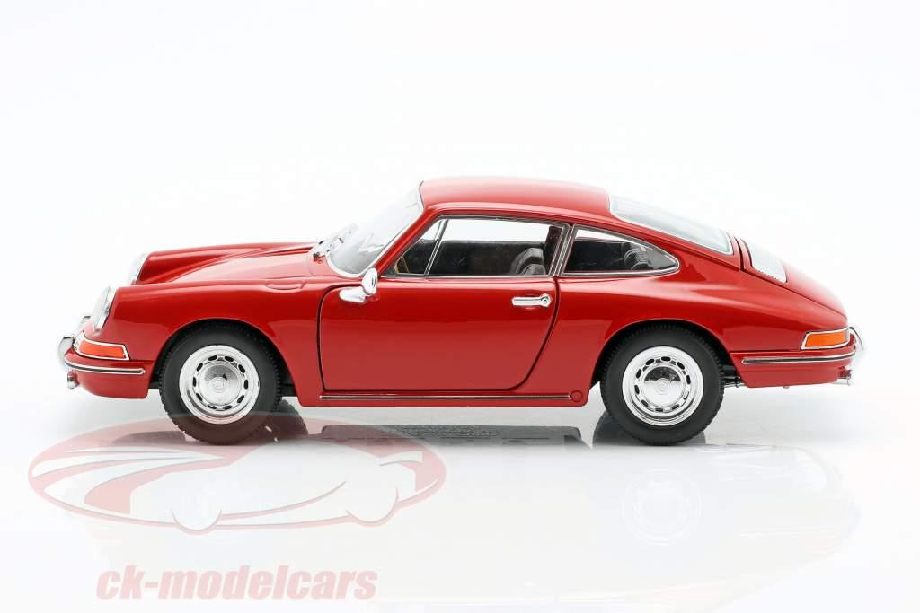 Porsche 911 année de construction 1964 rouge 1:24 Welly
