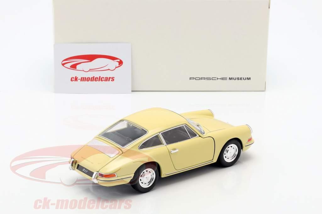 Porsche 911 Baujahr 1964 gelb 1:24 Welly