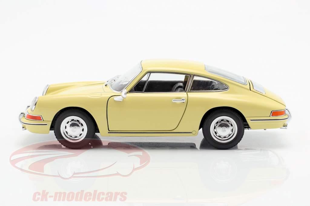 Porsche 911 anno di costruzione 1964 giallo 1:24 Welly