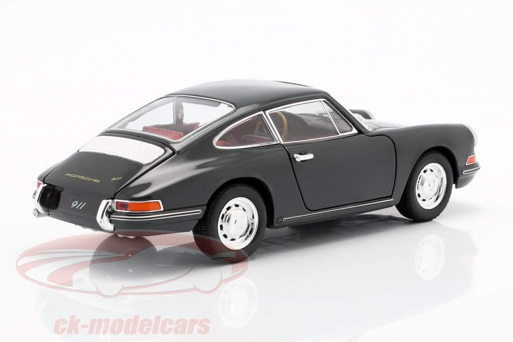 Porsche 911 año de construcción 1964 pizarra gris 1:24 Welly