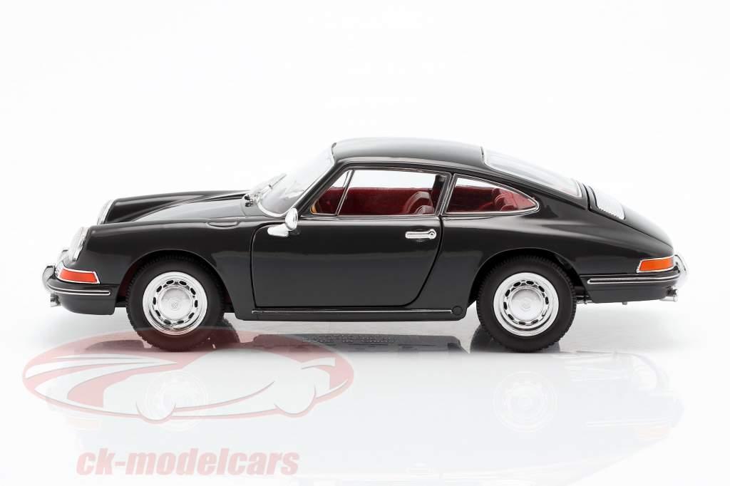 Porsche 911 Baujahr 1964 schiefergrau 1:24 Welly
