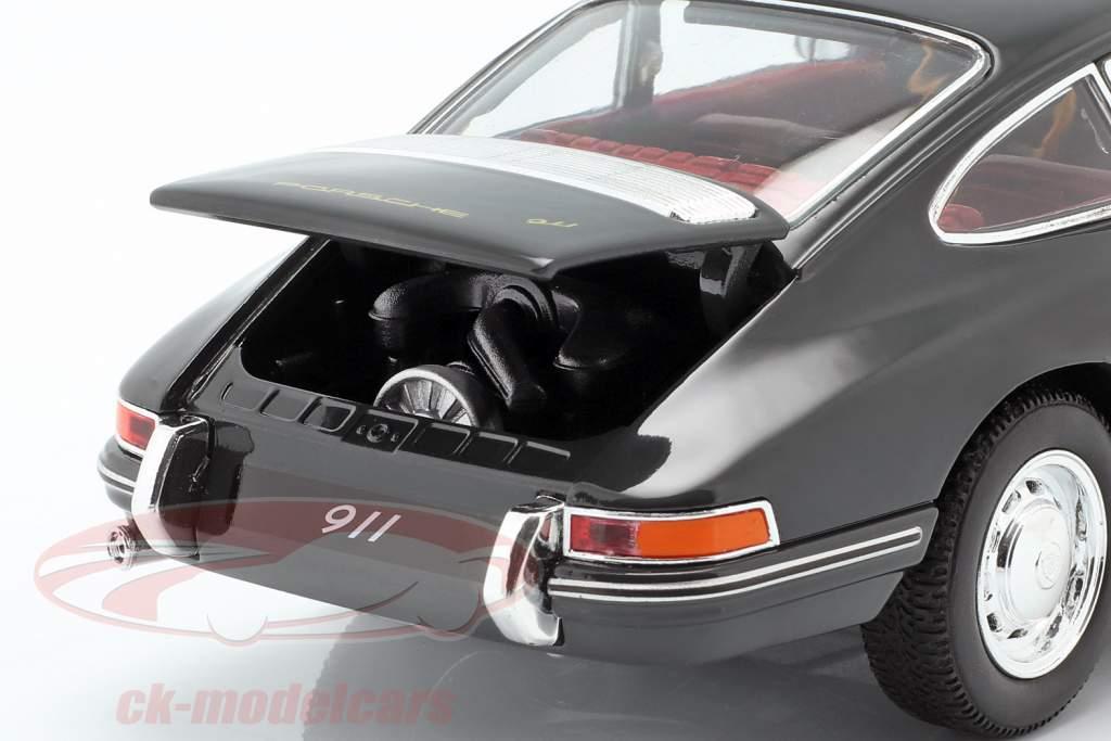 Porsche 911 anno di costruzione 1964 ardesia grigio 1:24 Welly