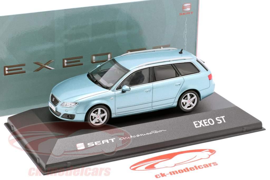 Seat Exeo ST anno di costruzione 2009 nayara blu metallico 1:43 Seat