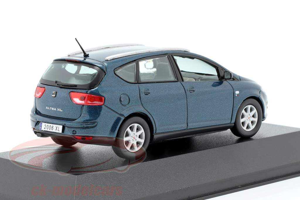 Seat Altea XL mørkeblå metallisk 1:43 Seat