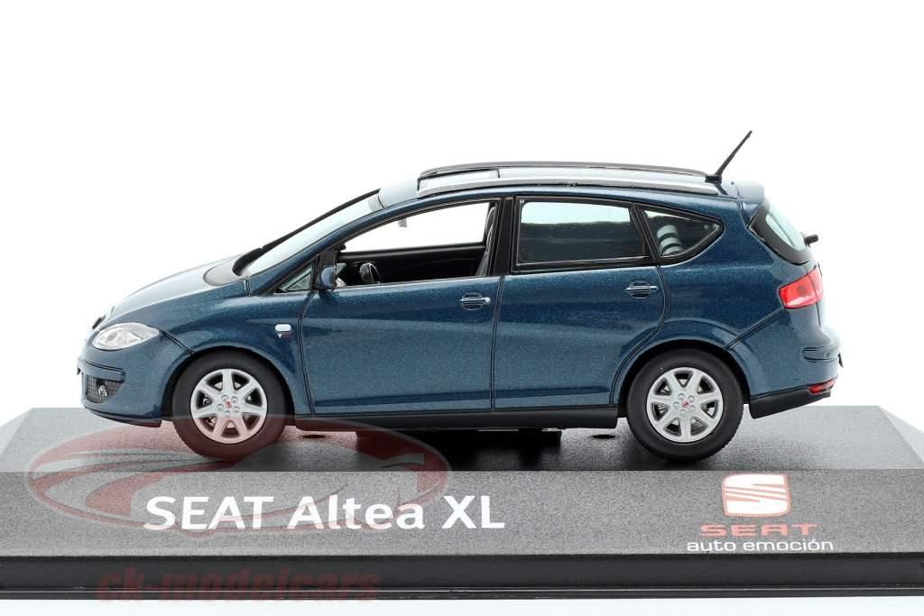 Seat Altea XL dunkelblau metallic 1:43 Seat