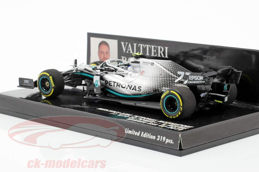 Valtteri Bottas Mercedes-AMG F1 W10 #77 Vinder USA GP F1 2019 1:43 Minichamps