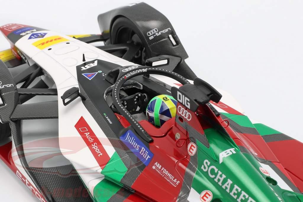 Lucas di Grassi Audi e-tron FE05 #11 fórmula E temporada 5 2018/19 1:18 Minichamps
