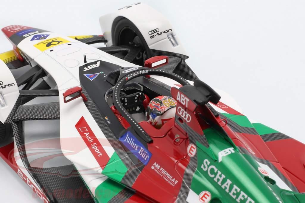 Daniel Abt Audi e-tron FE05 #66 Formel E Saison 5 2018/19 1:18 Minichamps