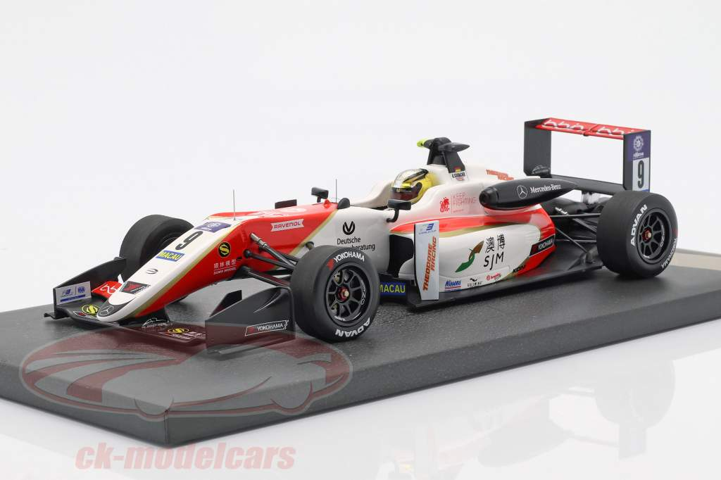 Mick Schumacher Dallara F317 #9 5 ° Macau GP 2018 1:18 Minichamps