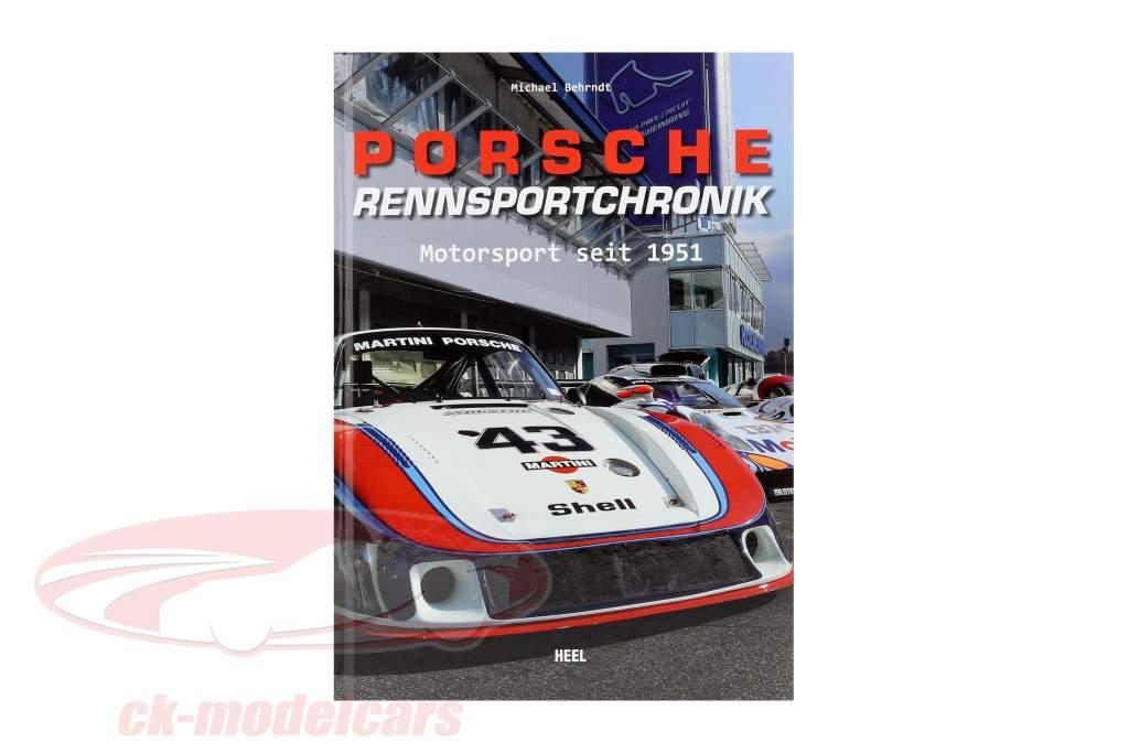 livre: Porsche Histoire Racing - Motorsport depuis 1951 / par Michael Behrndt