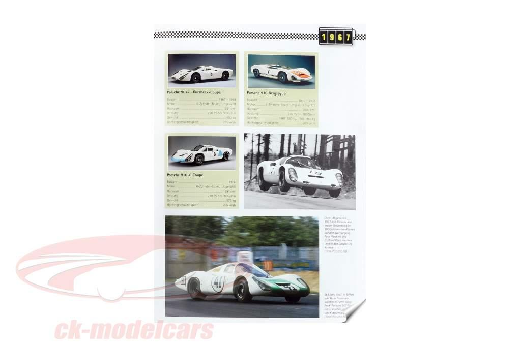 libro: Porsche Historia de carreras - Motorsport desde 1951 / por Michael Behrndt