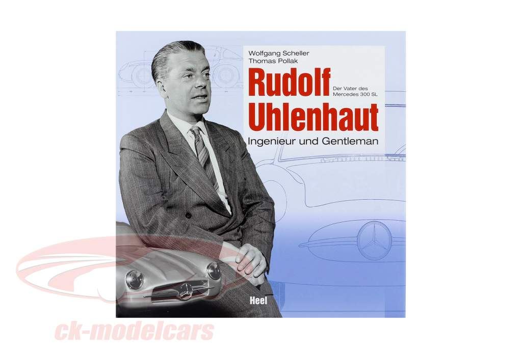 livro: Rudolf Uhlenhaut - engenheiro e cavalheiro / por W. Scheller & T. Pollak