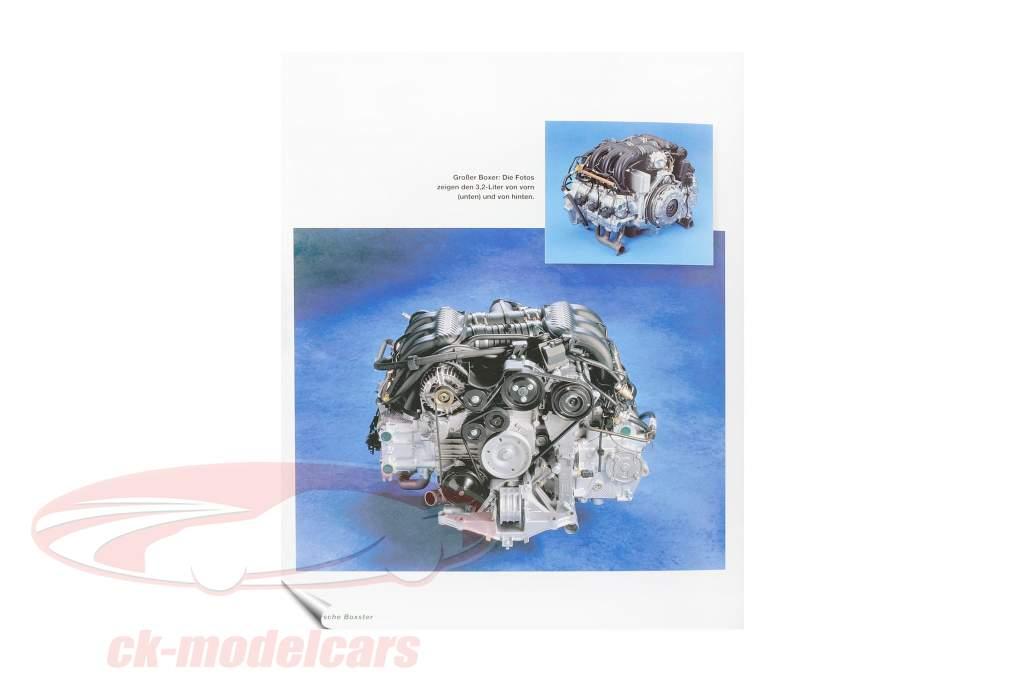 livro: Porsche Boxster tipo 986 - In der Mitte liegt die Kraft / por Brian Long