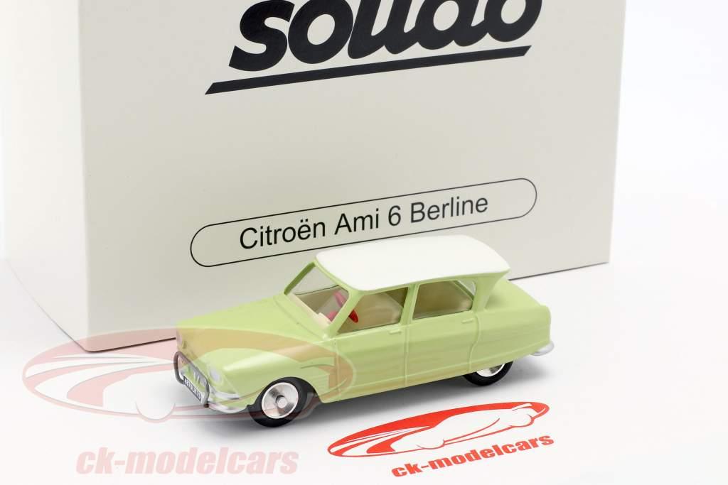 Citroen Ami 6 Berline año de construcción 1961 luz verde 1:43 Solido