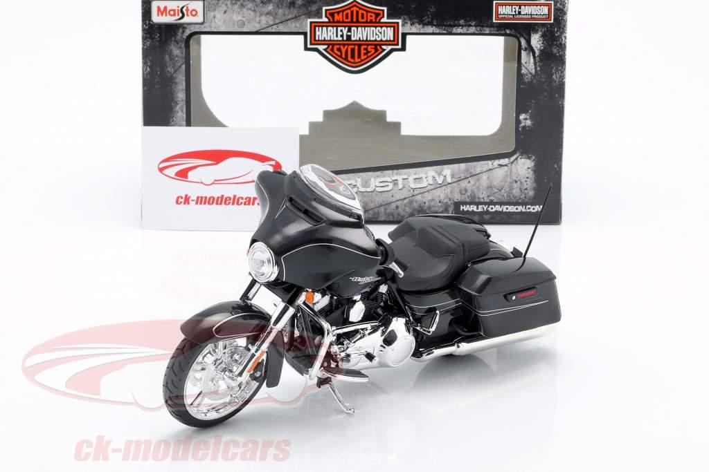 Harley Davidson Street Glide Special year 2015 black 1:12 Maisto