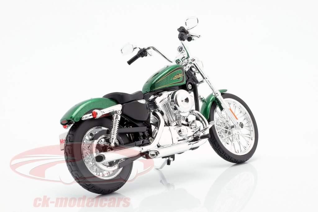 Harley Davidson XL 1200V Seventy-Two year 2012 green metallic 1:12 Maisto