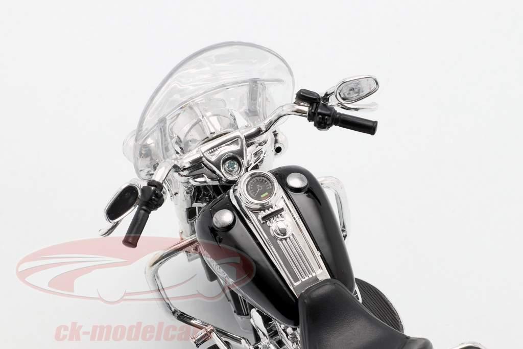 Harley Davidson FLHRC Road King Classic 2013 sort 1:12 Maisto