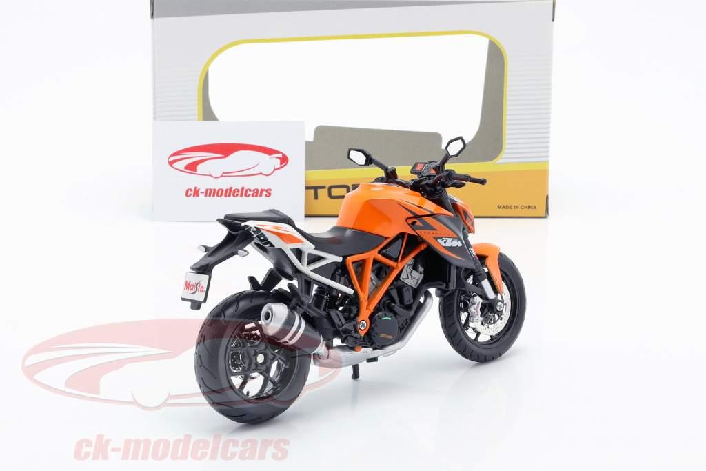 KTM 1290 Super Duke R orange / white / black 1:12 Maisto